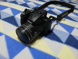 Cámara semiprofesional Nikon P600-Wifi