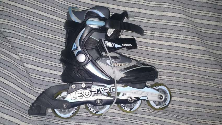 Rollers Leopard Impecables Talle 40 0