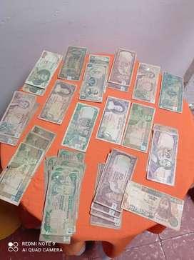 Colección de 62 Billetes Antiguos
