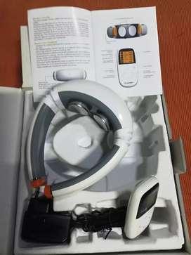 Vendo masajeador cervical a batería recargable control remoto