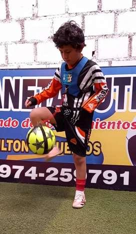 Chaleco integrado a balón