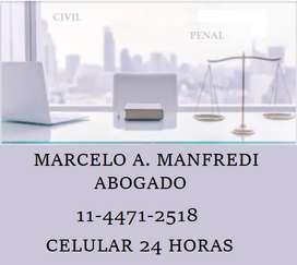 ABOGADO DERECHO PENAL CIVIL Y COMERCIAL