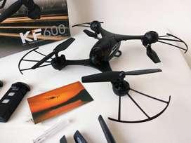 Venta Drone con Sensor Optico KF600 Camara WiFi FPV 720P 2 Baterias