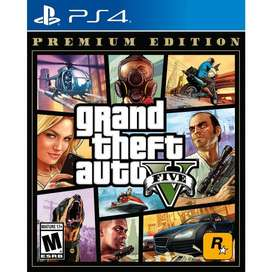 GTA 5 grand theft auto 5 premium edition ps4 nuevo gta