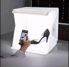 Estudio fotografico portatil + caja de luz grande