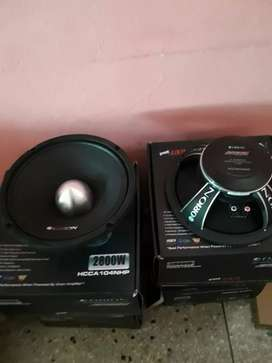 Vendo 1 medio Orion de 10""