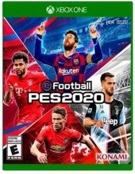 PES 2020 FUTBOL XBOX ONE NUEVO