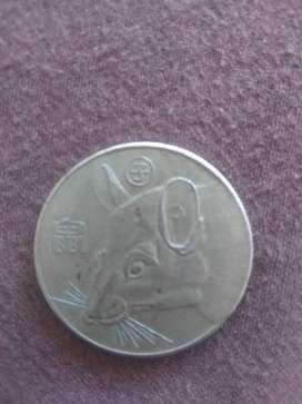 Moneda del horóscopo año chino de la rata en buenas condiciones(negociable)
