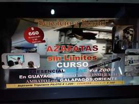 EL SERVICIO A BORDO DE AZAFATAS CURSO