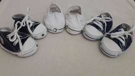 Zapatillas Bebé No Caminantes Nº17 - X3 Pares