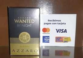 Azzaro wanted by night.