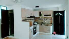 Apartamento (tipo apartaestudio) para soltero o pareja, excelentes acabados, 1 baño, 1 habitación, cocina integral.