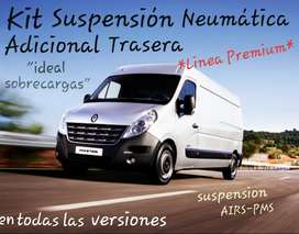 Toyota Hilux, Amarok, Master, Suspensión Neumatica