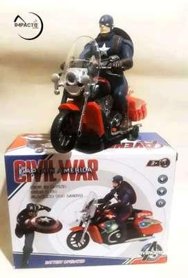 Moto capitán América