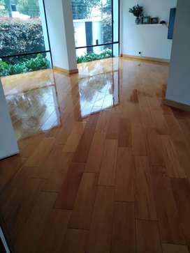Mantenimiento Y Limpieza de Pisos Láminados y de madera