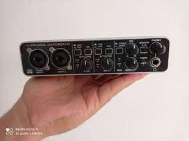 Behringer U-phoria Umc204hd Usb 2.0 Audio/midi