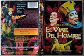 Cirque Du Soleil - El Viaje Del Hombre 2008 (DVD Original)