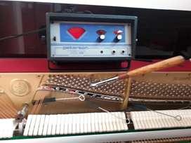 Afinación, mantenimiento de Pianos