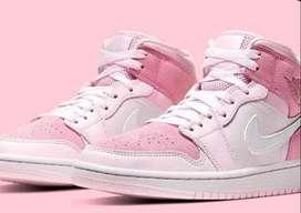 Botas Zapatillas Nike Air Jordan Retro 1 Rosa Dama Originales