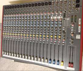 Allen & Heath Zed 22fx Mixer - Consola 22 Canales- Efectos - Impecable