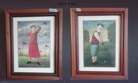 Motivo viaje vendo cuadros y  marcos para cuadros