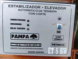 Elevador de tensión Pampa 5.kw