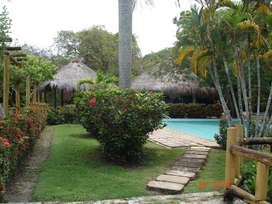 Hermosa cabaña en Ayapel con piscina, vista y salida a la laguna