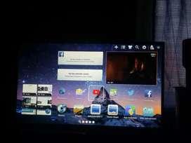 Tv en caja  43 con android o canjeo por celu nuevo