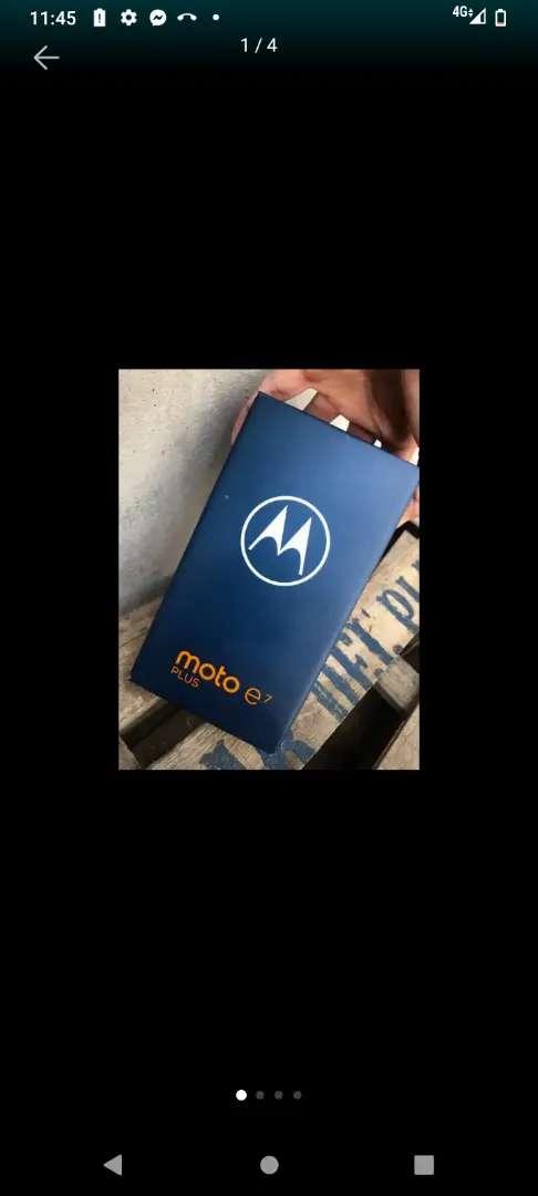 Vendo Motorola e 7 1 semana de uso sin detalles en caja con todos los accesoriios