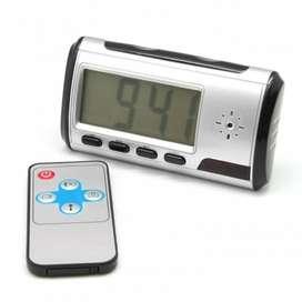 H480 Cámara Espía Reloj Despertador Alarma S.movim  720p HD