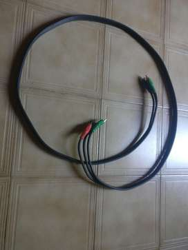 Cable Video Componente Rgb Ge