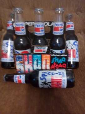 "Shaquille O'Neil ""The Shaq"" Pepsi Collectors Edition 1992-93 Botellas de la temporada"