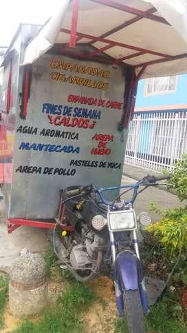 Se vende trailer moto