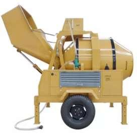 Mezcladora hidráulica de 500 litros (eléctrica)