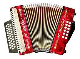 Acordeon Hoffer B3112Iii Music Box Colombia Vallenato    Adg