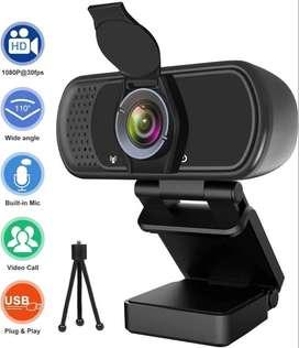 Webcam Hrayzan 1080p 30fps Videoconferencias + Tripode