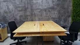 Escritorio de madera para oficina