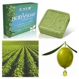 Body Soap Jabón Vegetal Exel Corporal Antiox Refresh