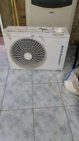 aire acondicionado marca kelvinator 3500 calorías frío y calor