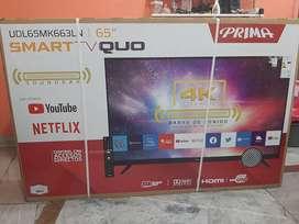 """Smart tv 65"""" 4k prima"""