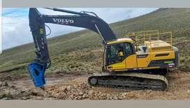 Martillos HYDROKHAN Para Excavadoras, Retroexcavadoras y Minicargadores