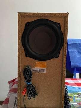 Bafle speaker