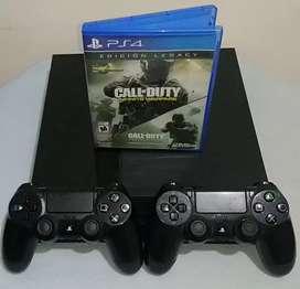 PS4 Fat 500 GB + 2 Controles