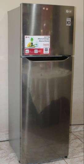 Refrigeradora LG GT28BPP Capacidad 254L Motor Inverter