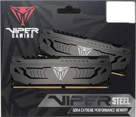 Memoria Ram Patriot Viper Steel Ddr4 32gb (2x16) 3000hz