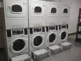Negocio lavanderia autoservicio