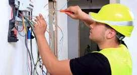 Electricista tecnico camaras Seguridad