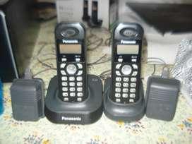 Conjunto De dos Telefonos Inhalambricos Panasonic Tg1311ag2