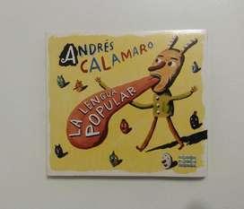 """CD Andrés Calamaro """"La Lengua Popular"""""""