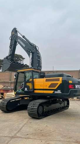Empresa Vende Excavadora Nueva HYUNDAI HX340SL